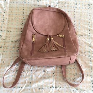 Sturdy Pink/Dusty Rose Backpack